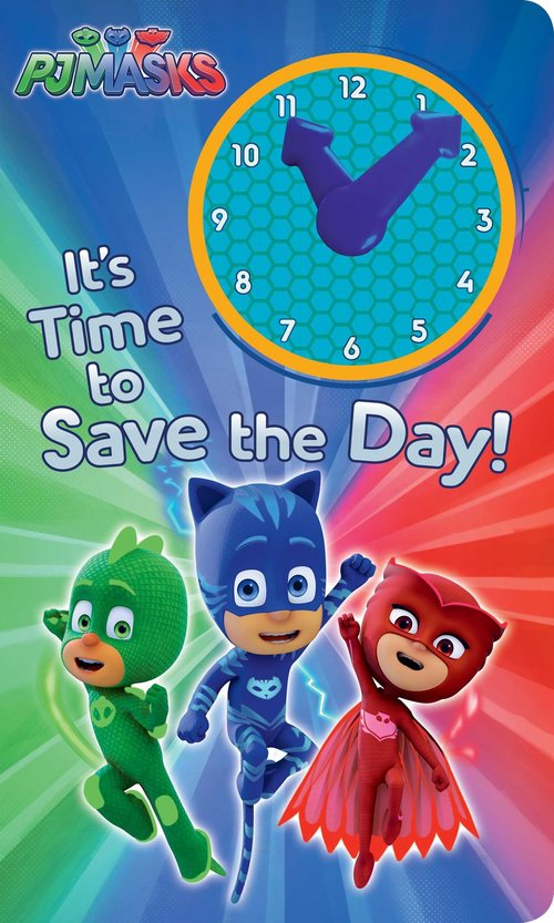 It's Time to Save the Day! book