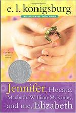 Jennifer, Hecate, Macbeth, William McKinley, and Me, Elizabeth book