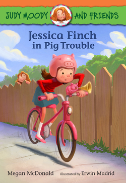 Jessica Finch in Pig Trouble Book