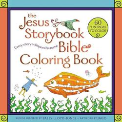 Jesus Storybook Bible Coloring Book for Kids: Every Story Whispers His Name book