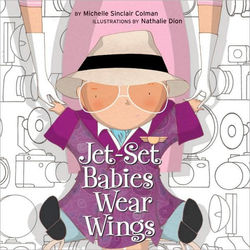 Jet-Set Babies Wear Wings book