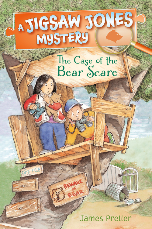Jigsaw Jones: The Case of the Bear Scare Book