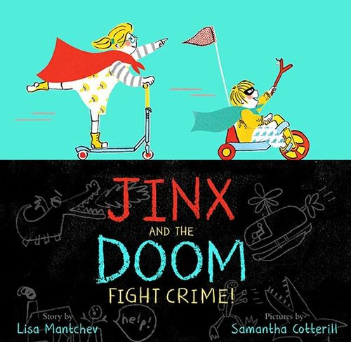 Jinx and the Doom Fight Crime! book