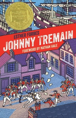 Johnny Tremain book