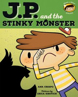 JP and the Stinky Monster book
