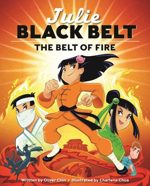 Julie Black Belt book