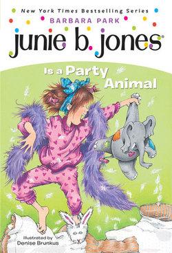Junie B. Jones Is a Party Animal book