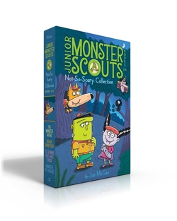 Junior Monster Scouts Not-So-Scary Collection Books 1-4: The Monster Squad; Crash! Bang! Boo!; It's Raining Bats and Frogs!; Monster of Disguise (Boxe book