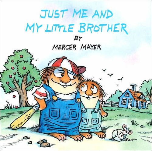 Just Me and My Little Brother book