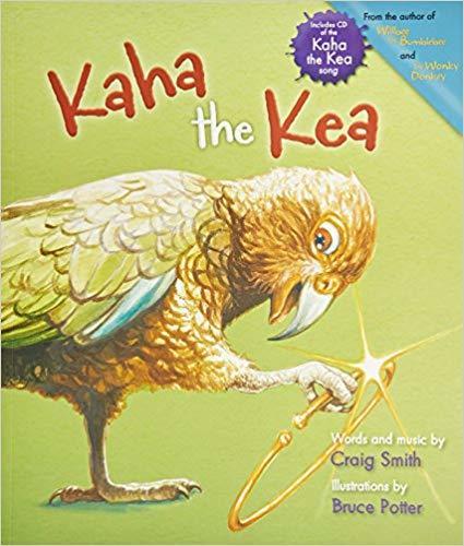 Kaha the Kea book