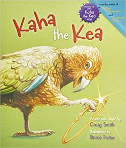 Kaha the Kea book