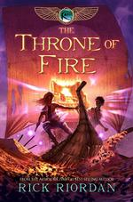 Kane Chronicles, Book Two the Throne of Fire book