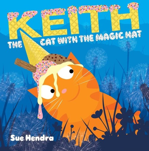 Keith the Cat with the Magic Hat book