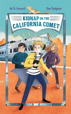 Kidnap on the California Comet book