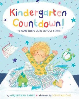 Kindergarten Countdown book