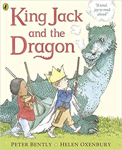 King Jack and the Dragon Board Book Book