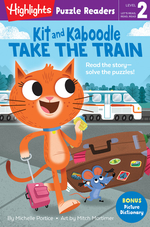 Kit and Kaboodle Take the Train book