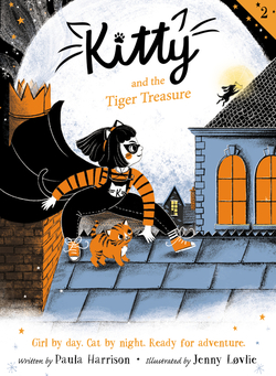 Kitty and the Tiger Treasure book