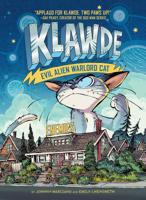 Klawde: Evil Alien Warlord Cat: Enemies book