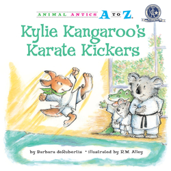 Kylie Kangaroo's Karate Kickers book