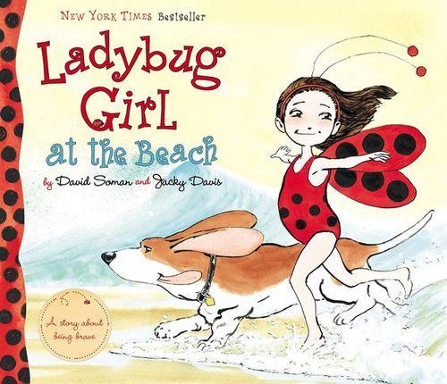 Ladybug Girl at the Beach book