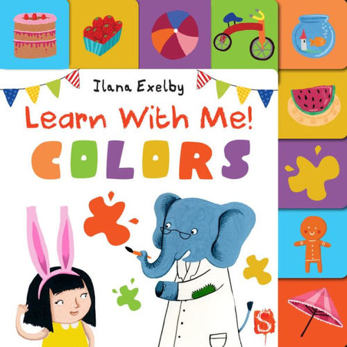 Learn with Me! Colors book