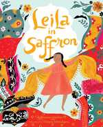 Leila in Saffron book