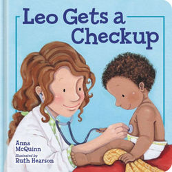 Leo Gets a Checkup book