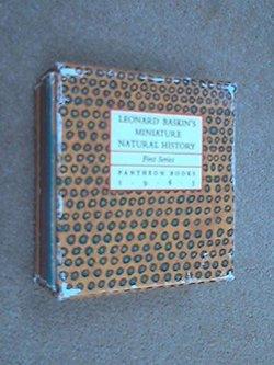 Leonard Baskin's Miniature Natural History, First Series book