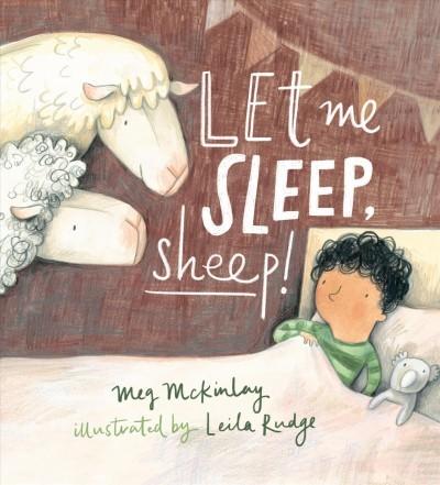 Let Me Sleep, Sheep! book