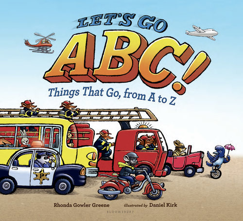 Let's Go ABC! book