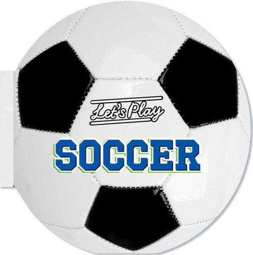 Let's Play Soccer book