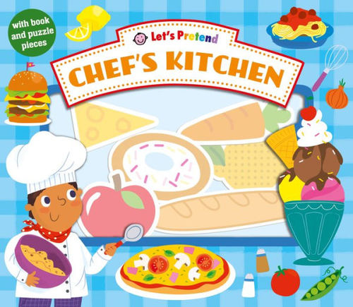 Let's Pretend Chef's Kitchen book