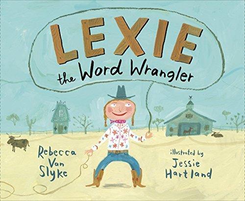 Lexie the Word Wrangler book