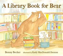 Library Book for Bear book