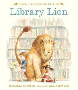 Library Lion book