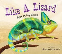 Like a Lizard book