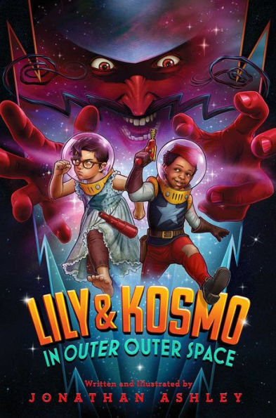Lily & Kosmo in Outer Outer Space book