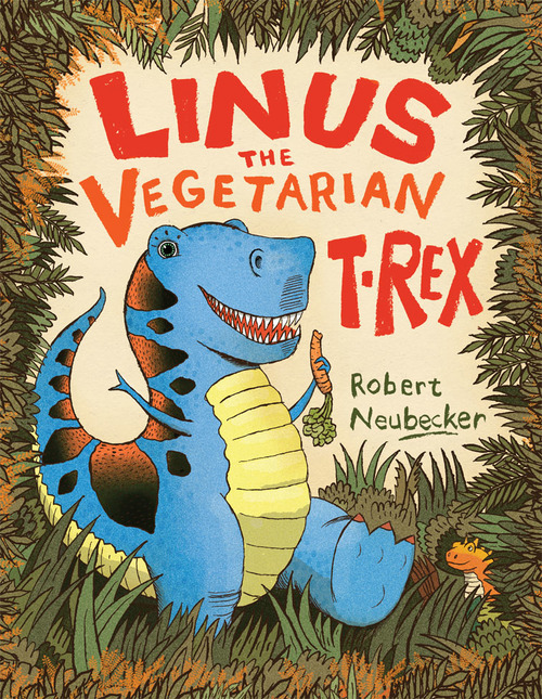 Linus the Vegetarian T. Rex book