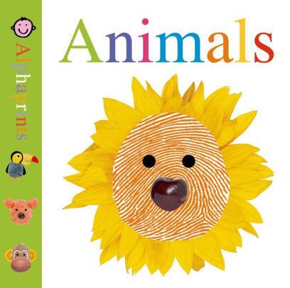 Little Alphaprints: Animals book