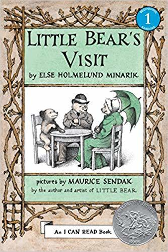 Little Bear's Visit book