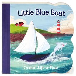 Little Blue Boat: Ocean Lift-a-Flap book
