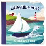 Little Blue Boat: Ocean Lift-a-Flap book