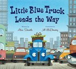 Little Blue Truck Leads the Way book