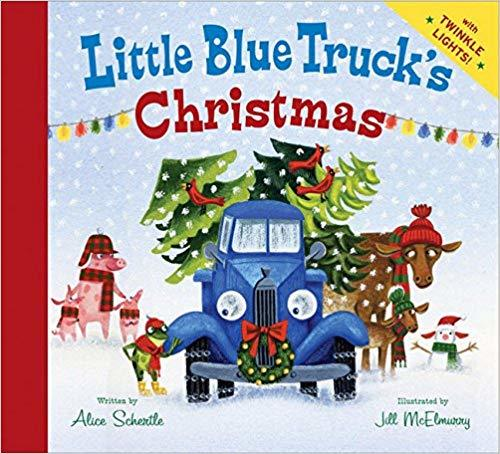 Little Blue Truck's Christmas Book