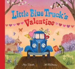 Little Blue Truck's Valentine book