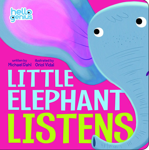 Little Elephant Listens book