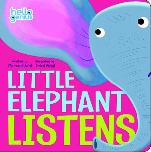Little Elephant Listens Book
