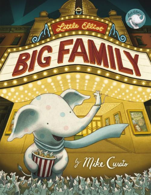 Little Elliot, Big Family book