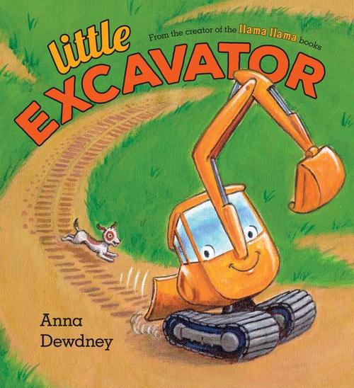 Little Excavator Book
